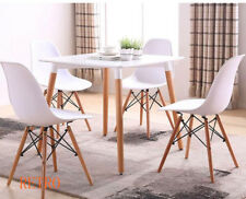square   Dining table and 4 chairs retro   Eiffel