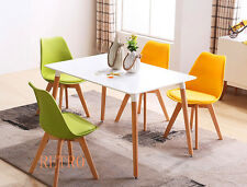 Dining table and 4 tulip chairs retro  DSW Eiffel