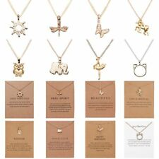 Women Fashion Simple Animal Pendant Necklace Chain Charm Collar Jewelry Gift NEW