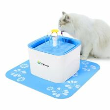 isYoung Pet Water Fountain, Upgraded 2.5L Cat/Dog Pet Drinking Fountain Automati