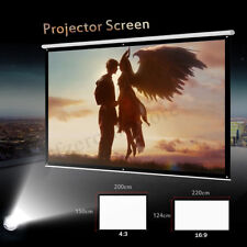 100'' 16: 9/4:3 Portable Foldable Projector Screen HD Home Theater Movie Cinema