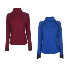 Under Armour Coldgear Reactor Camiseta para Correr Mujer Trote Camisa Fitness