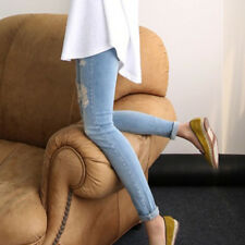 Fashion Maternity Stretchy Jeans Pants Nursing Pregnancy Trousers Fitness Casual