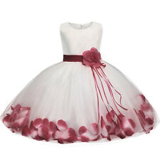 Abito battesimo cerimonia matrimonio bambina neonata festa baby party dress 3-24