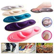 1Paar Unisex Orthotic Foot Shoes Insoles Insert High Arch Support Pad Cushion DE