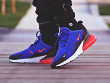 Nike Air Max 270 Blue Red White Black Running Shoes Trainers UK 7 EU 41 US 8