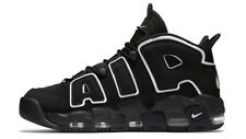 Nike Air More Uptempo Nere Black Shoes 100% Original - NIKE UPTEMPO BLACK
