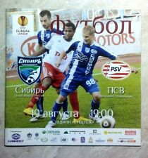 2010/2011 MATCH PROGRAMMES EUROCUPS EL UPDATED JANUARY 2019 Read description