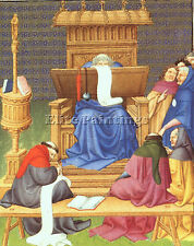 Art Canvas//Poster Print A3//A2//A1 Tundal/'s Hell Limbourg 1416