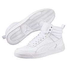 f795176039ede3 Puma Sports Mens Rebound Street v2 Casual Leather High Tops Shoes Trainers