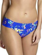 Panache Florentine Gather Bikini Brief Bottoms Pant SW1059 Cobalt/Floral