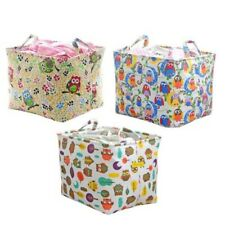 Fabric Cloth Foldable Storage Bin Bag Closet Toy Box Container Organizer Basket