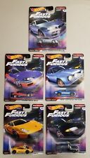 """*NEW* HOT WHEELS  Fast and Furious Fast Imports """"U PIC EM """" with Real Riders"""