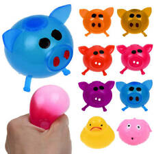 Jello Pig Cute Anti Stress Splat Water Pig Ball Vent Toy Venting Sticky NEW