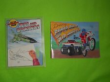 "1987  Vintage  ""YOU CAN DRAW "" Jets and Bombers  OR Super Bikes and Big Wheels"