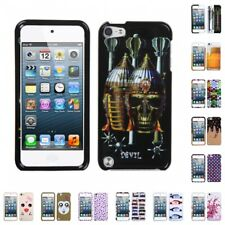 For Apple iPod Touch 5th 6th Gen Design Snap-On Hard Case Phone Cover