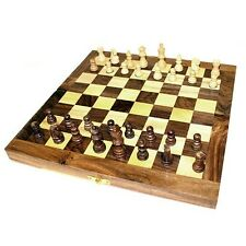 BEAUTIFUL CHESS SETS - 8 DIFFERENT DESIGNS MAGNETIC CLASSIC & WOODEN - NEW