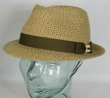 88d4c41823dba Stetson Toyo Summer Trilby Hat Straw Hat Squeezable Sunhat Beige 1238536 New