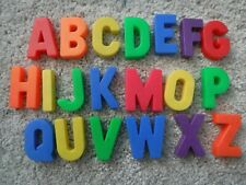 Vintage 1972 Fisher Price Magnetic Alphabet Letter Replacement A-K M O-Q U-X Z