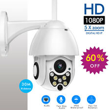 1080P PTZ IP Camera Outdoor Speed Dome Wireless Wifi Security Camera Pan Tilt