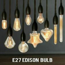 Vintage Ampule Edison Bulb E27 40W 220V St64 G95 Retro Glass Incandescent Decor