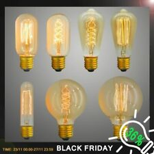 Edison Bulb E27 Retro Light Lamp 220V 40W Incandescent Industrial Ampule Vintage