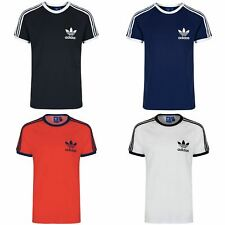 ADIDAS ORIGINALS MENS CALIFORNIA SHORT SLEEVE TREFOIL T-SHIRT SIZE S,M,L,XL