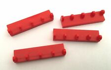Lego Hinge plate 1x4 with 5 x fingers x 6 pt 4315 choose your colour