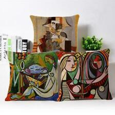 Abstract painting Cotton Linen Pillow Cases Sofa Throw pillow Cushion 18'' Cover
