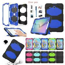 For Samsung Galaxy Tab A 8.0 T380 T387 Shockproof Hard Hybrid Armor Case Cover
