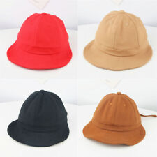 ff4ec19448e New Kids Sun Basin Cap Children Girls Fisherman Hat Sun Bucket Hat Summer  Cotton