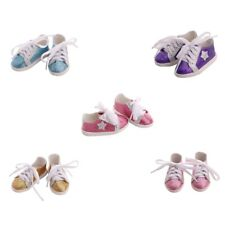 18inch Girl Doll Bling Bling Shoes for American Doll Clothes Accs Kids Gift