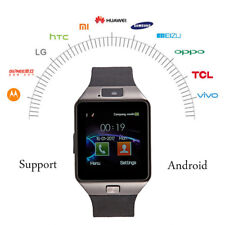 New DZ09 Smart Watch with Bluetooth For Android HTC Camera Sim Slot iPhone iOS