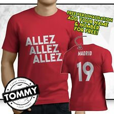 Allez Allez Allez T Shirt, Liverpool Champions League Final T Shirt, Madrid 2019