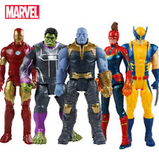 12'' AVENGERS 4 Endgame MARVEL Action Figures Super Heroes Hulk Spider Man Thor