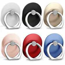 Finger Ring Grip Cell Phone Holder Stand Attachment Rotating Mount USA Oval
