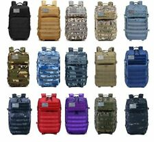 New 45L Molle Outdoors Military Tactical Bag Camping Hiking Trekking Backpack