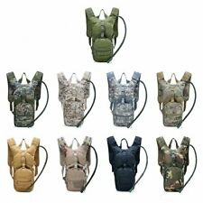 3L Water Bladder Bag Military Hiking Camping Tactical Hydration Backpack Packs
