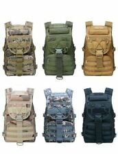 Military Tactical Backpack Assault Army Molle Hiking Camping Pack Bug Out Bag