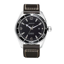 42mm Parnis 21 Jewels Miyota Automatic Men Mechanical Watch 316L Stainless Case