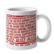 Liverpool Mug - Champions Europe Allez Anthem Chant Song 2019 - 6 Times Winners