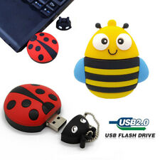USB 2TB/1TB 512GB Cartoon Animals Flash Pen Drives Memory Stick Media Car U Disk