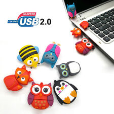 2TB USB Flash Drive Cute Animals Memory Stick Pen Drive Thumb Data Laptop U Disk