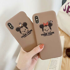 Minnie Mickey Disney Scratch Phone Case Cover For iPhone 6/7/8/XS XR Max Plus