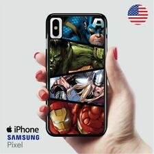 Four the avengers marvel iPhone X Samsung S10 Pixel Case