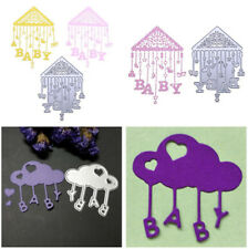BABY Bed Bell Metal Cutting Dies Stencil Scrapbooking Album Paper Card Dec#uar