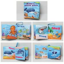 Intelligence Development Cloth Bed Cognize Book Educational Toy for Kid Hot Baby