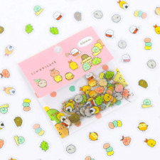 80 pcs/bag Japanese Stationery Stickers Cute Cat Sticky Paper Kawaii PVC Diary B