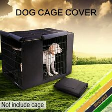 """36'' 42"""" 48'' Pet Dog Crate Cage COVER Kennel House Tent Windproof Waterproof"""