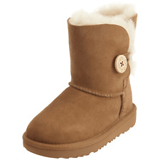 Toddler UGG Bailey Button II Boot 1017400T Chestnut 100% Authentic Brand New